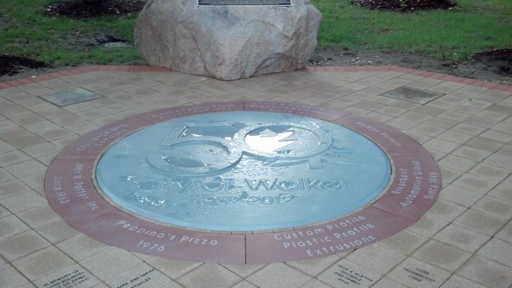 Walker Memorial Patio