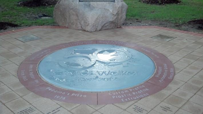 Custom Profile Sponsors Walker Memorial Patio