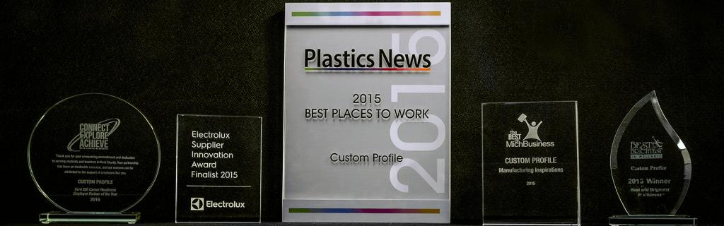 Awards Won by Custom Profile in 2015
